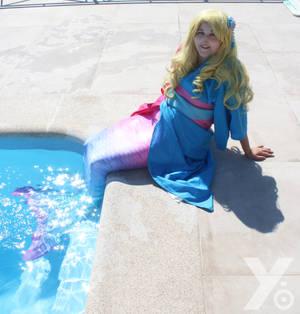 Disney Summer Cosplay - Aurora - Mermaid 2