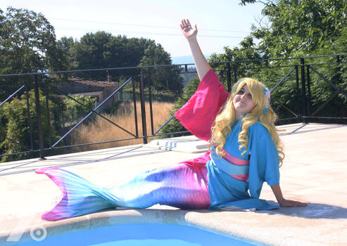 Disney Summer Cosplay - Aurora - Mermaid 3