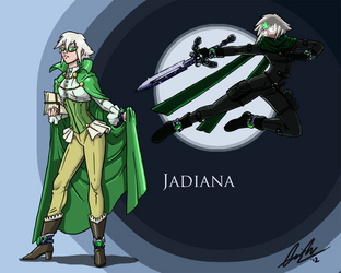 Jadiana [commission] by blindeyeinsight