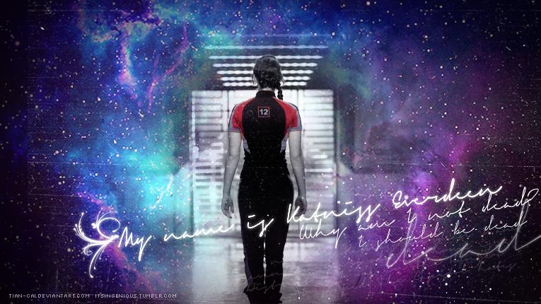 Katniss Everdeen - Why am I not dead? by tian-cai