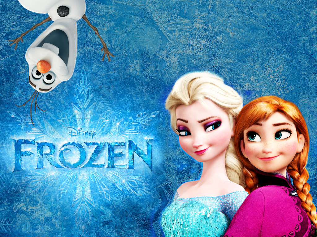 the animated movie frozen wallpaper