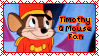 Timothy Q Mouse Fan Stamp by Sabrina-K-88
