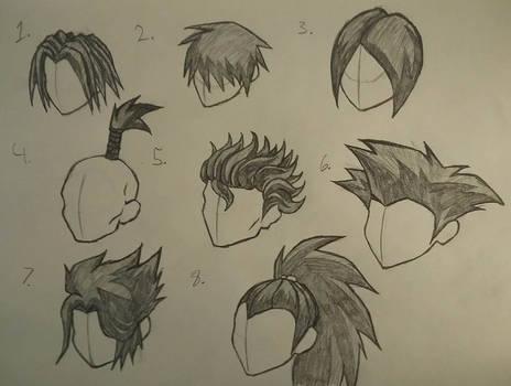 Hair Style Study (AQW)