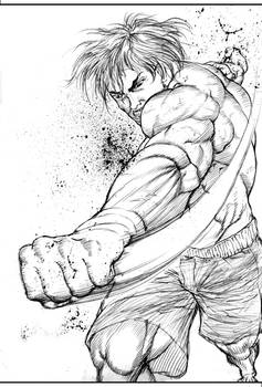 Baki Hanma - Son of Ogre