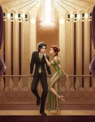Commission: Liam and Johanna by dyadav