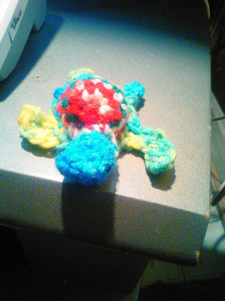 Mini crochet Turtle by Mew2fem