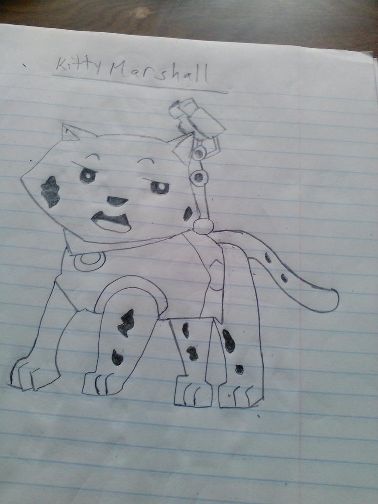 Freehand Kitty Marshall by Mew2fem