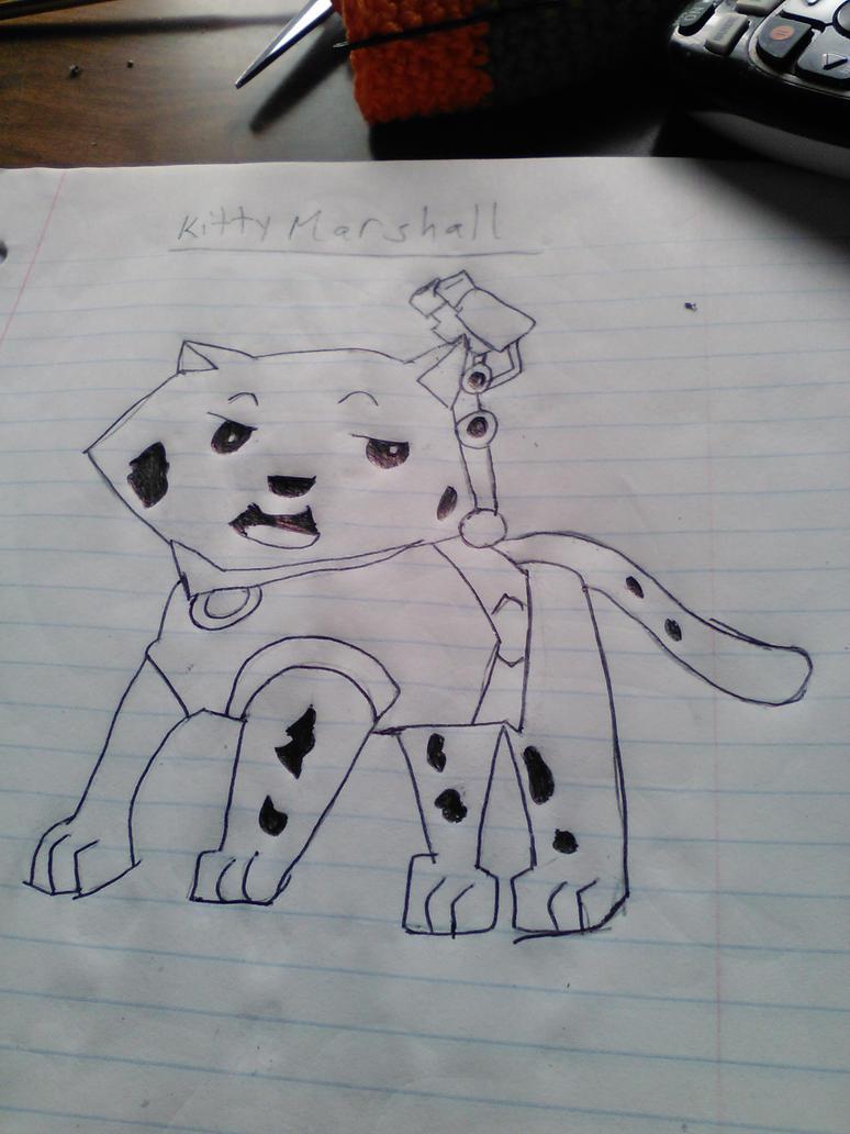 Inked Kitty Marshall by Mew2fem