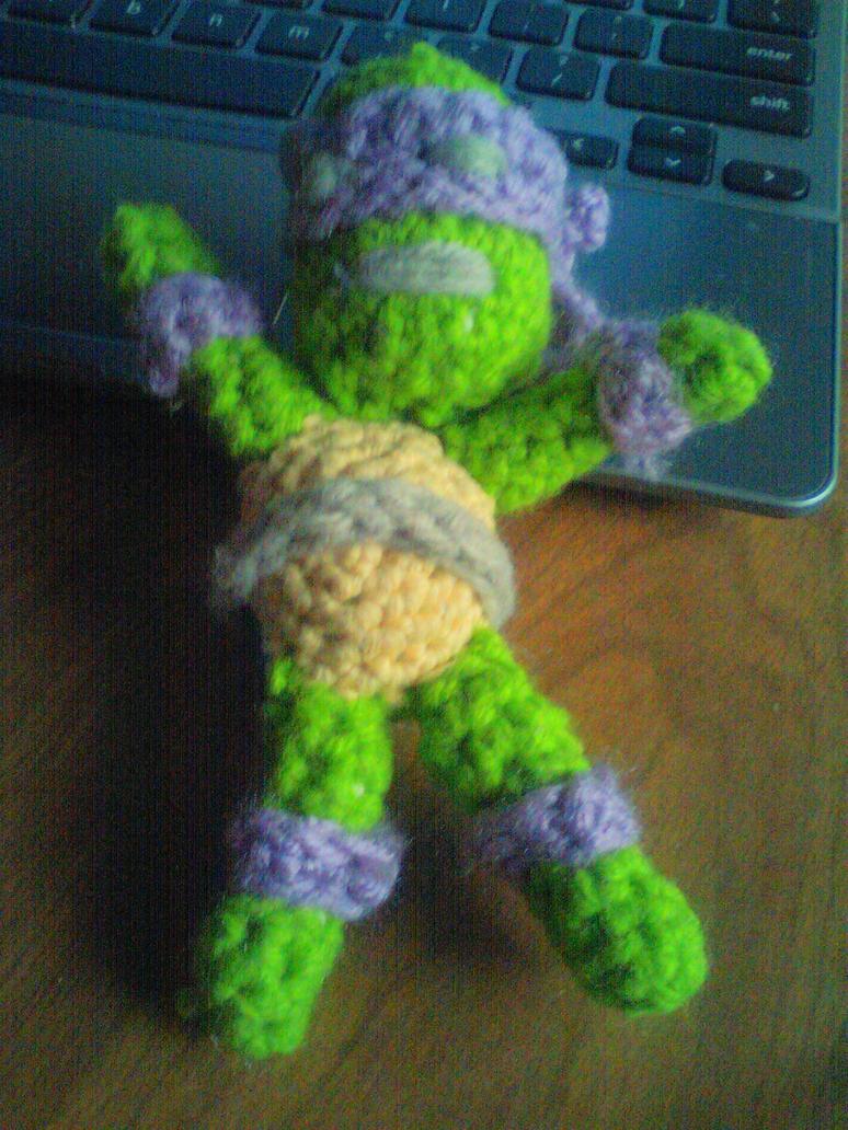 Crochet Donnie by Mew2fem
