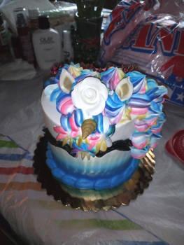 My Late Birthday cake