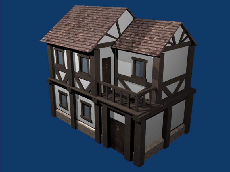 Small tudor house by dr fr4g on deviantart for Small tudor house