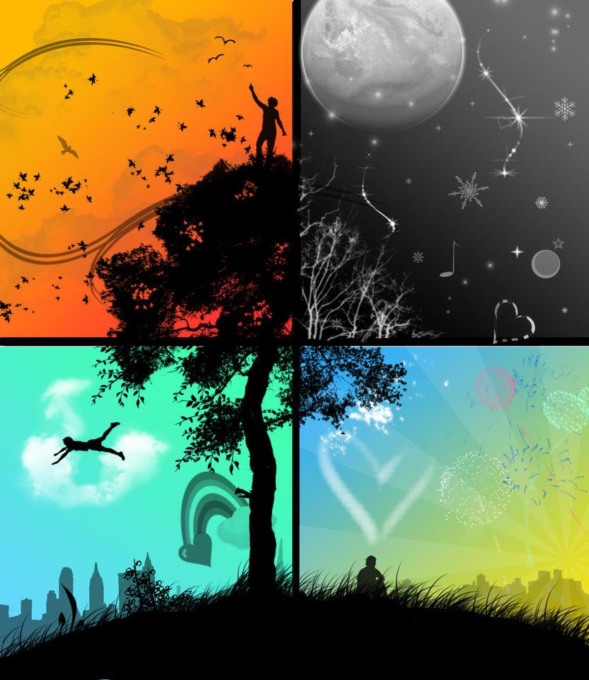 Four Seasons by spudzalot