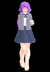 Anri Machaia - School Uniform WiP