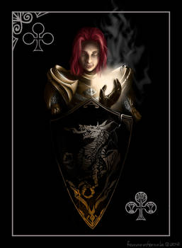 DARK SOULS. Ace of Clubs: Holy Knight Layla