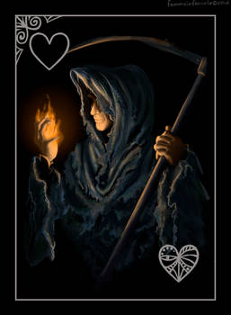 DARK SOULS. Ace of Hearts: Kestrel The Pyromancer