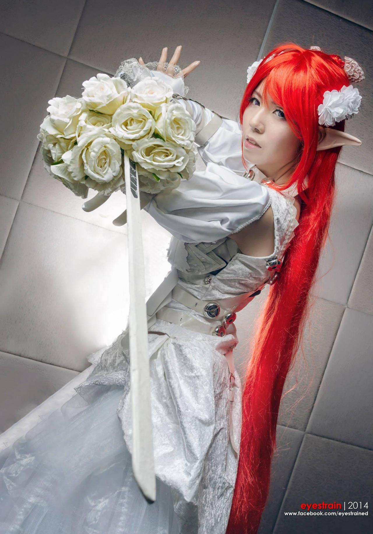 Elven Bride by amakurareika