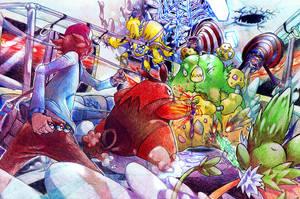 Battle Subway Beatz by Donffy
