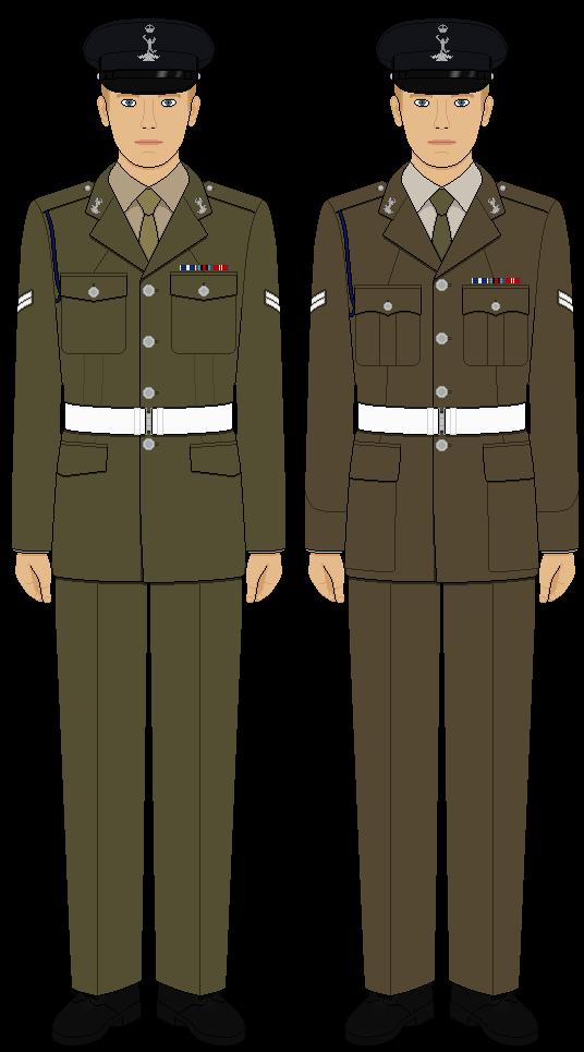 British Army Dress Uniform 98