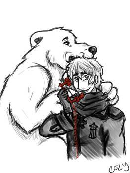 Canada, how do i get polar bear off my head