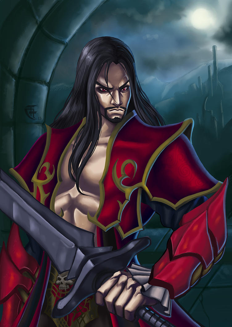 Dracula  from Lords of Shadows 2 by lithiumsaint