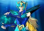 Kraken no Isaac Blue by lithiumsaint