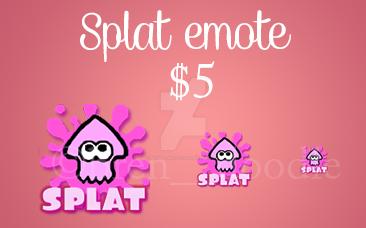 Splatoon emote! by Brenda-Malfoy