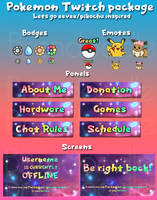 Pokemon lets go Twitch Package (for sale)