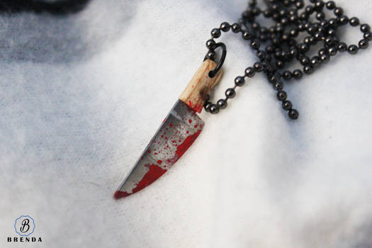 Michael Myers inspired necklace