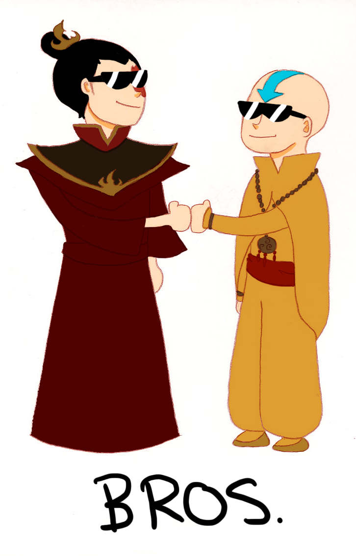 Zuko and Aang are Bros by cookiekhaleesi