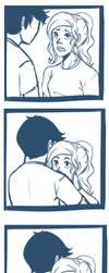 You're cute when you're worried. by cookiekhaleesi