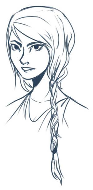 Katniss doodle