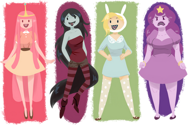 Adventure Ladies by cookiekhaleesi