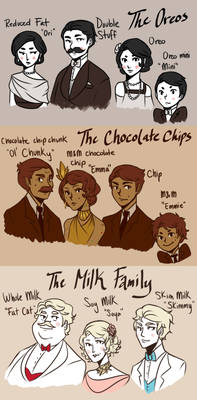 The Cookie Mobster Families