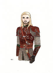 Eomer sketch by CatSalinas