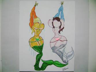 Fishing for Mermaids by eladssur