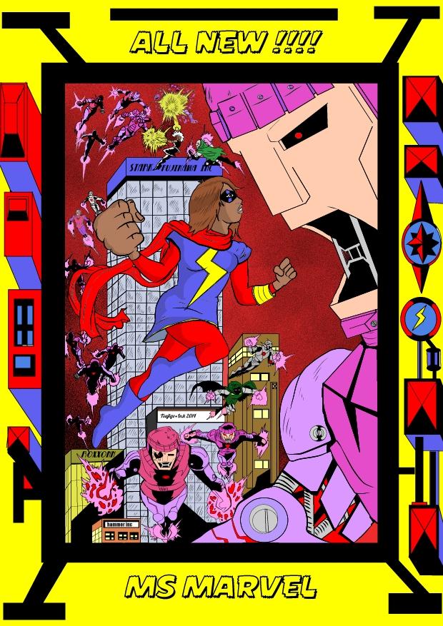 All New Ms Marvel by tsujigo