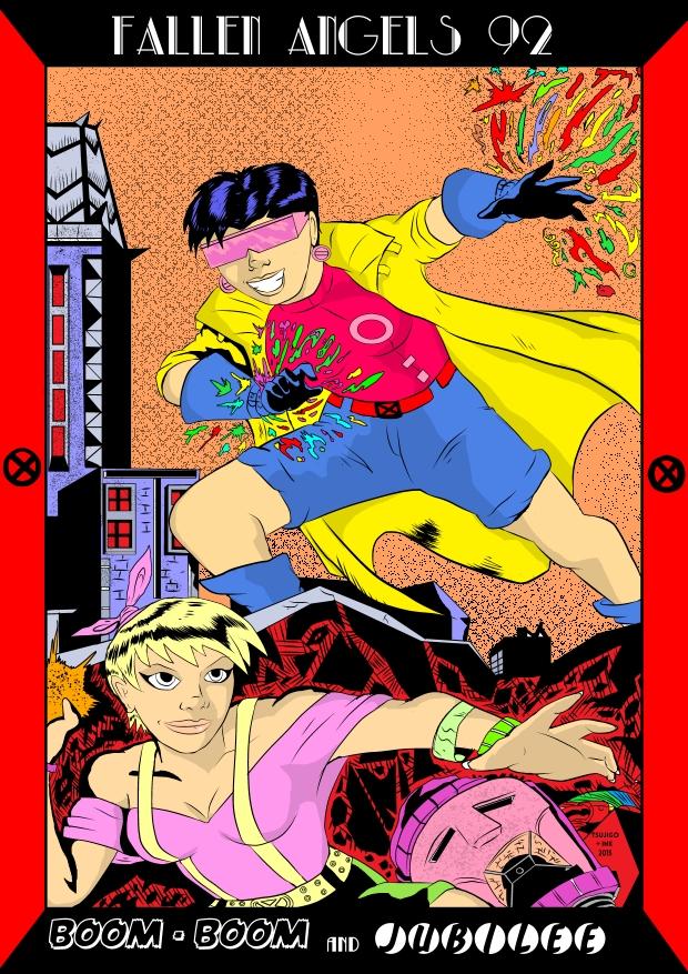 Boom Boom and Jubilee by tsujigo