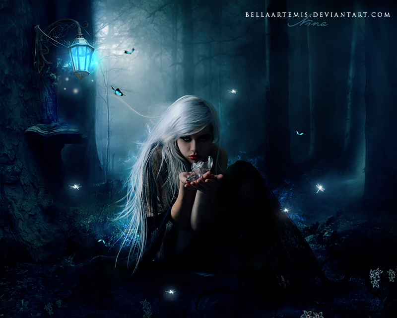 .The spell was broken by BellaArtemis