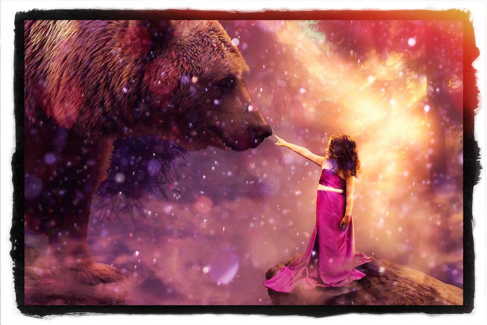 Bear-Girl Ledge, Mystical