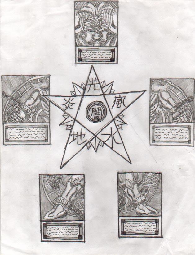 Exodia Pentagram by Tai-Wolf