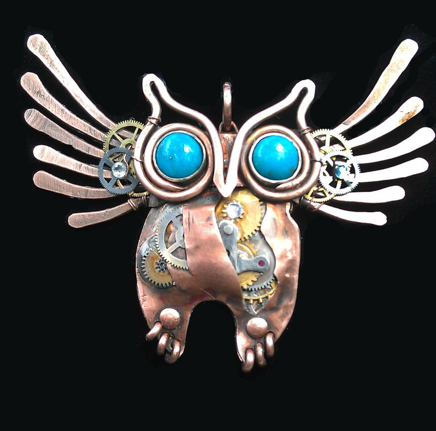 Steampunk Owl By Bentfenderstudios On Deviantart