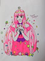 Princess Bubblegum by YellowHaruka