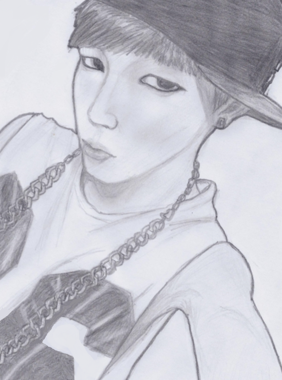 Jimin Sketch By YellowHaruka On DeviantArt