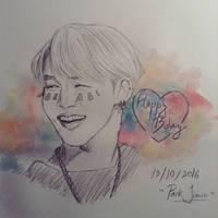 Park Jimin- Happy Birthday 13102016  by YellowHaruka
