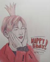 Kim Seokjin- Happy Birthday 04122016 by YellowHaruka