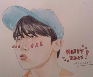 Jung Hoseok- Happy Birthday 18022017 by YellowHaruka