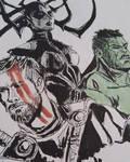 Thor Ragnarok by YellowHaruka