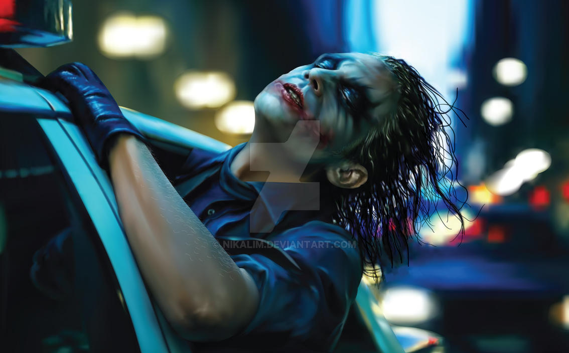Joker - 100% Vector by NikaLim