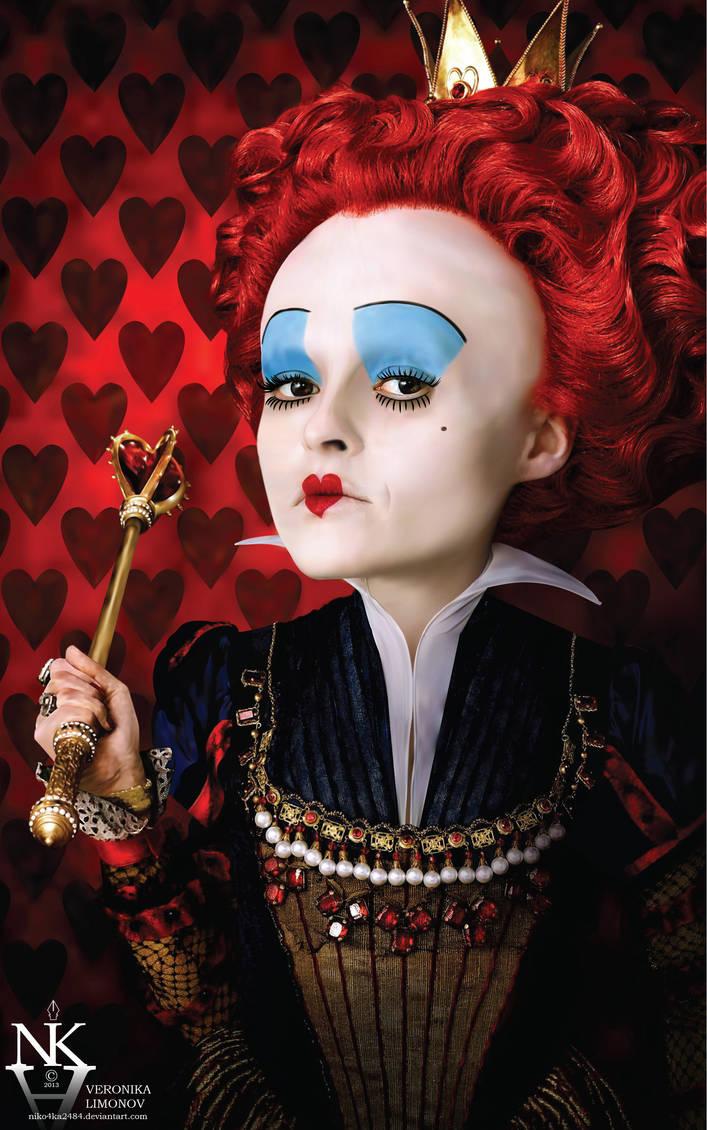 Red Queen - Alice in Wonderland -100% vector