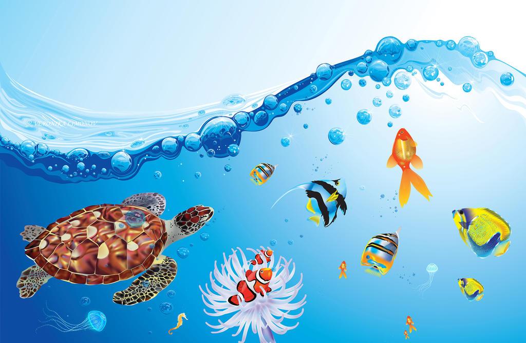 Underwater - 100% Vector by NikaLim